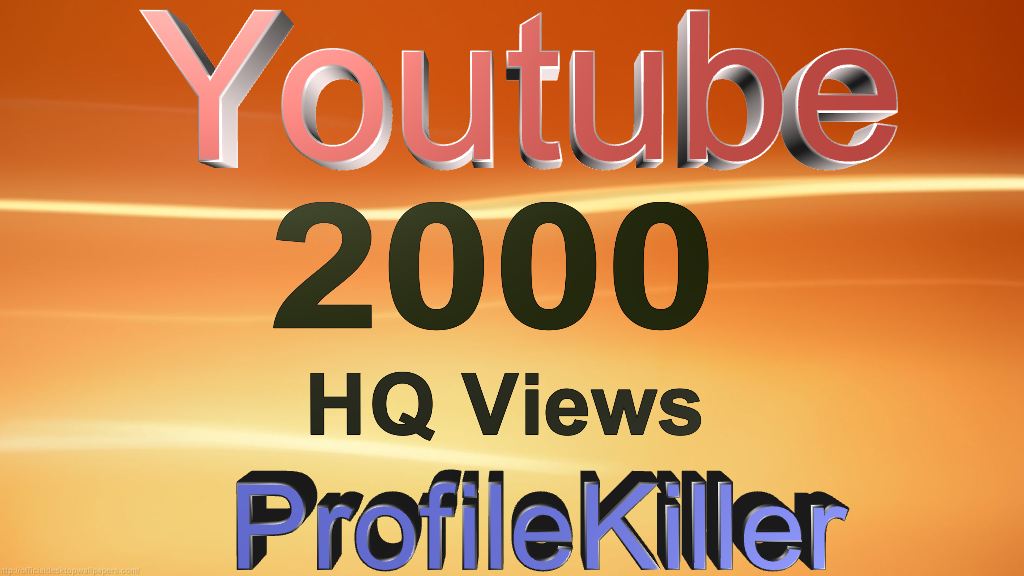 2000 Youtube Real Video Views