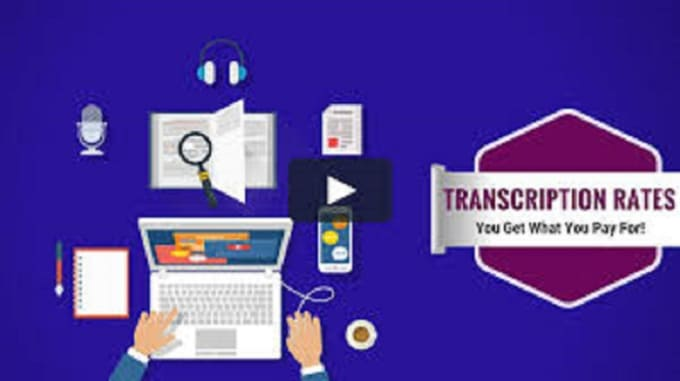 transcribe your audio or video to word or pdf english