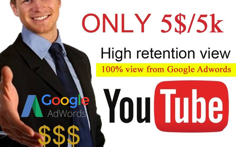 Promote your video viewers with safe 5000 views - With Bonus 1000 views