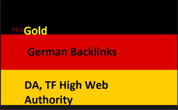 Pbn German Deutsch Backlinks Guest Post Germany SEO