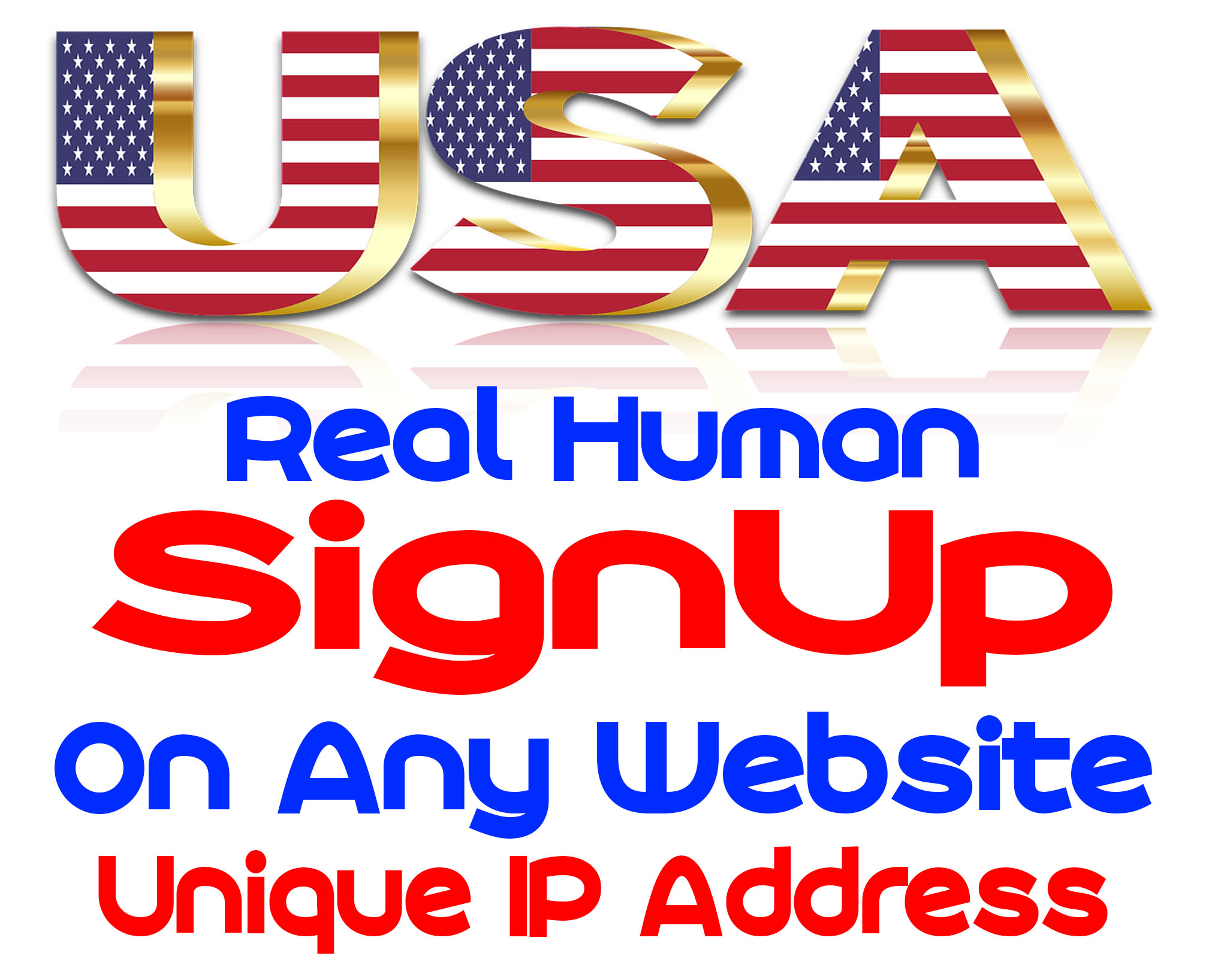 USA 100+ People Join or Signup On Any Website With Different IP Address