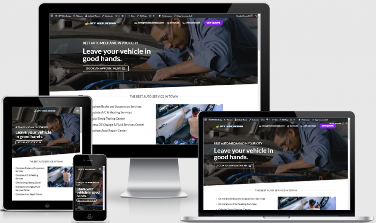 Done-For-You Web Design for Local business with enhanced SEO & Security