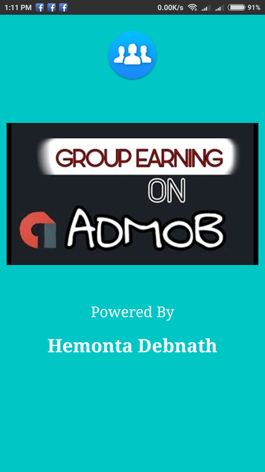 Earn Money From Admob Group Earning App for $25 - SEOClerks