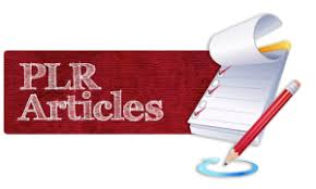 Get over 2million Editable PLR Articles