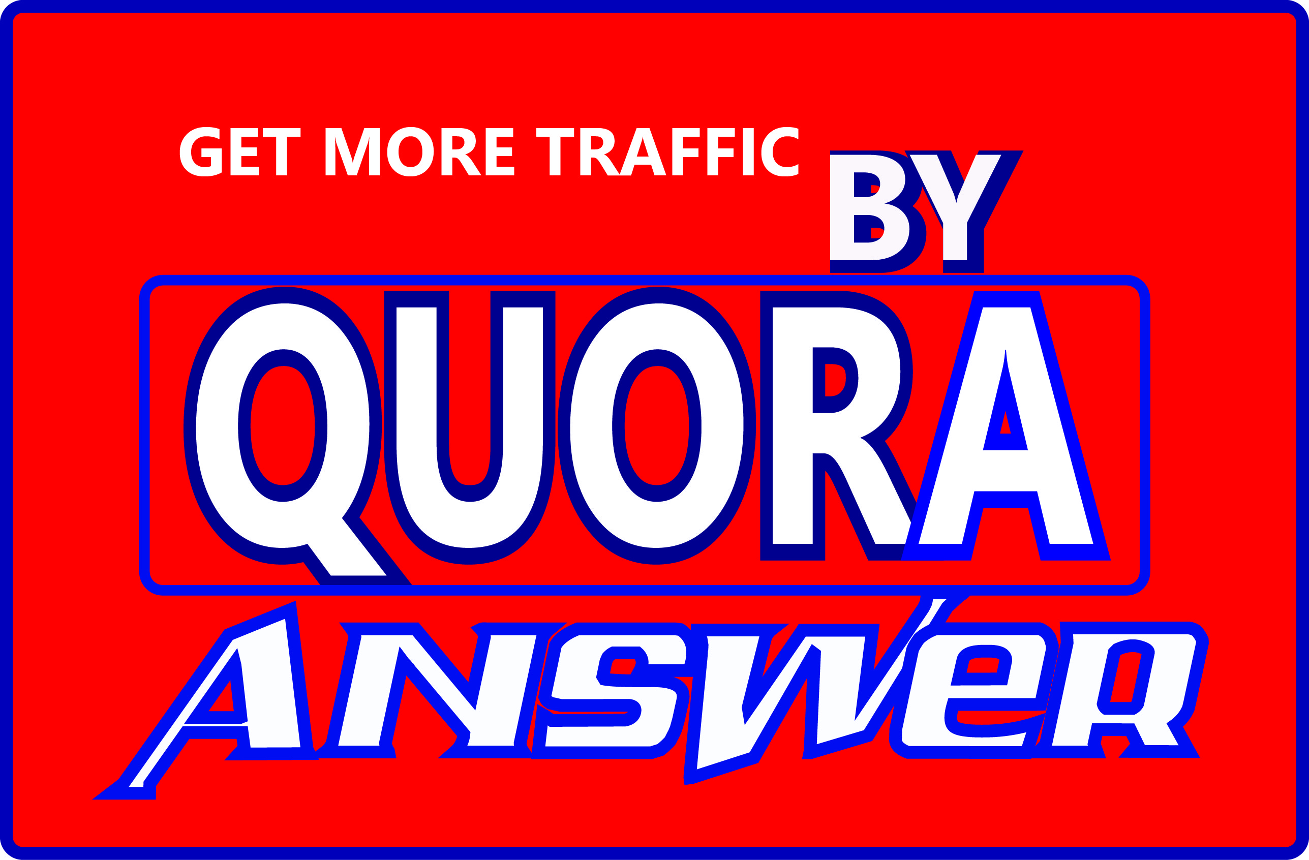 promote your website using quora answer