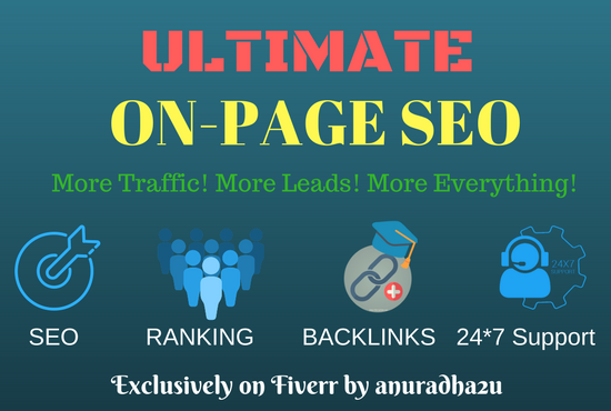 Affordable And Professional On Page SEO Services