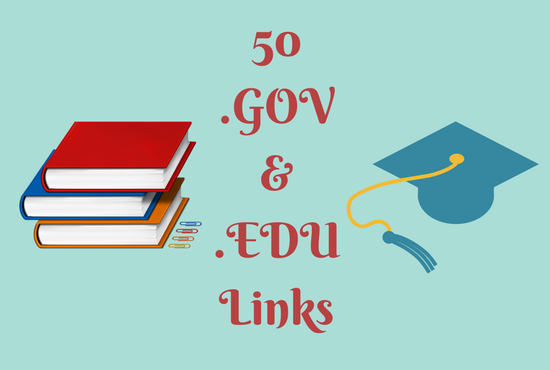 50 Edu And Gov Backlinks To Boost SEO of your website