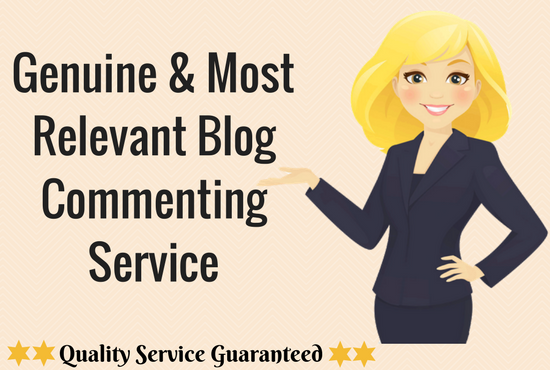 High Quality Do Follow Blog Commenting Service