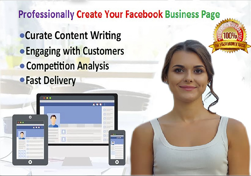 Professionally Create Your Facebook Business Page