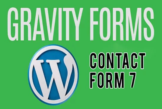 Design,  Install,  Fix Contact Form 7 And Gravity Forms