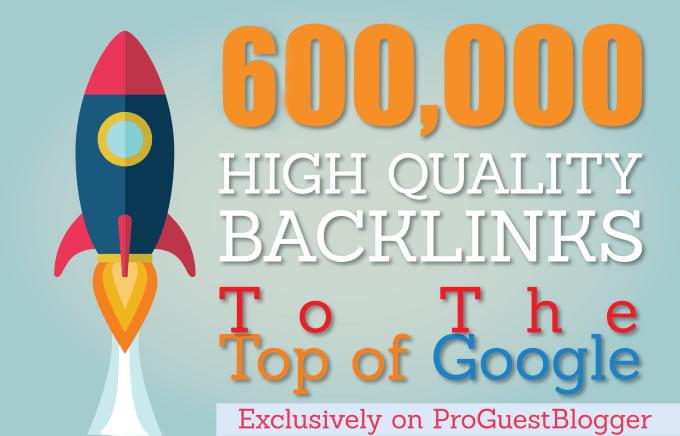 Powerful SEO 600,000 GSA Dofollow Links for Verified BACKLINKS