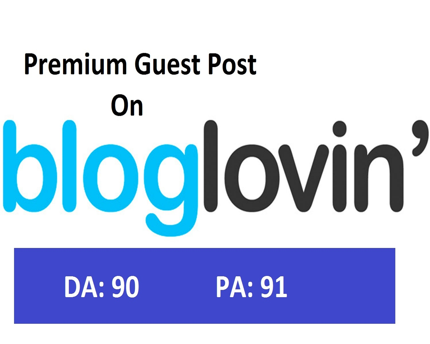 Write and Publish your on bloglovin da90 dofollow within 24 hours