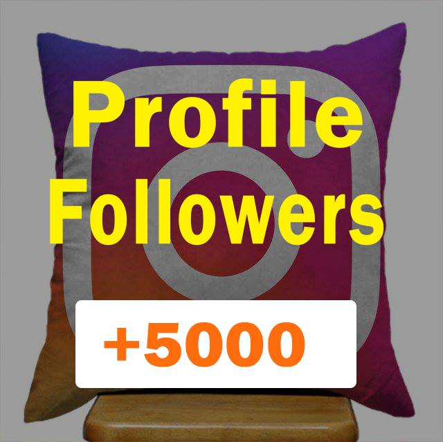 Within 2-3 hours 5000+ Followers to your Social Profile