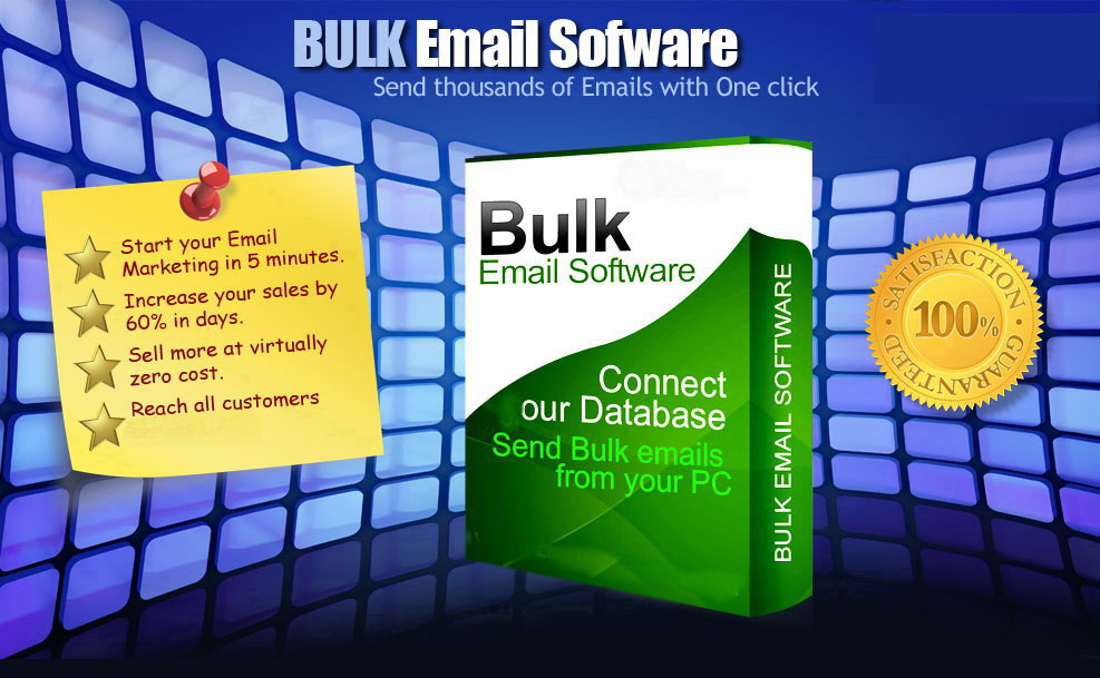 I'll provide you Unlimited Bulk email SENDER