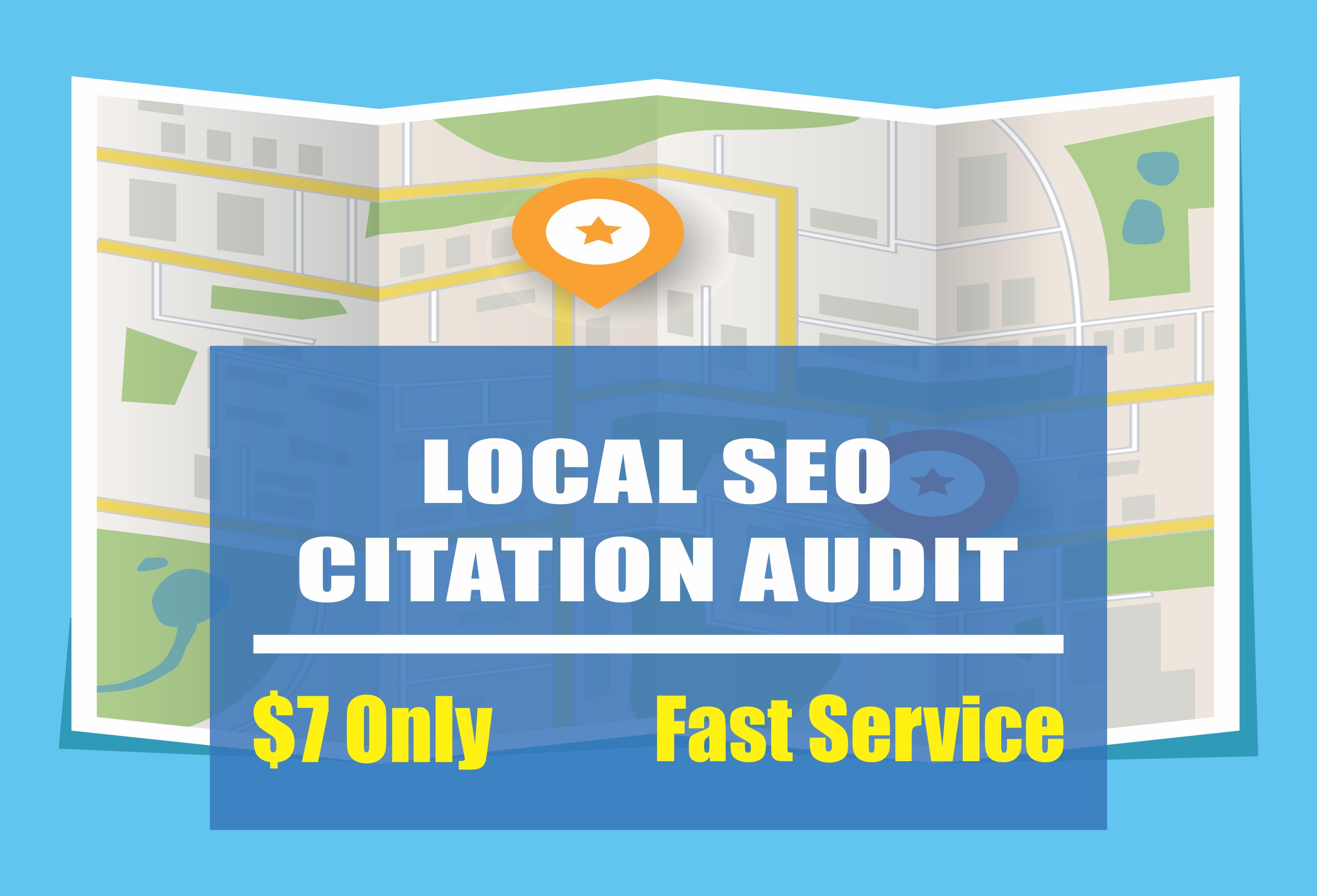 Complete Local SEO Citation Audit