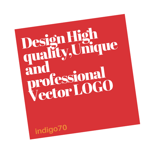 Design High quality,Unique and professional Vector LOGO for your business, website