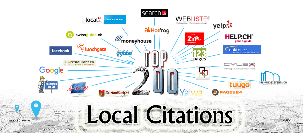 Add Your Business On 200 Local Citations