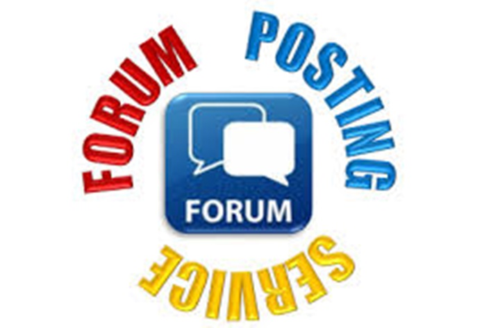 Offer manual 30 Forum Post & backlinks