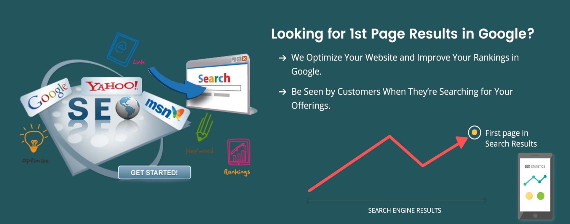 1st page rank in search engine