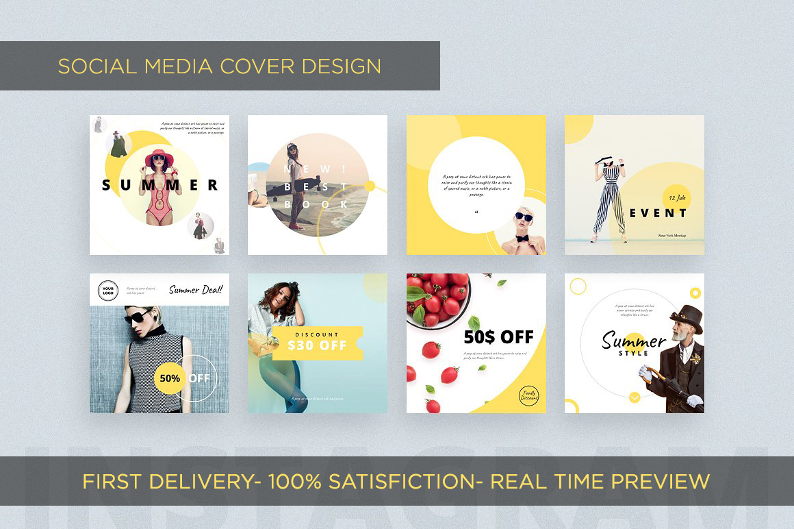 Design Amazing Social Media Cover Within 12 Hours