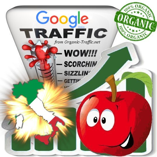 Italian Search Traffic from Google  it for $6