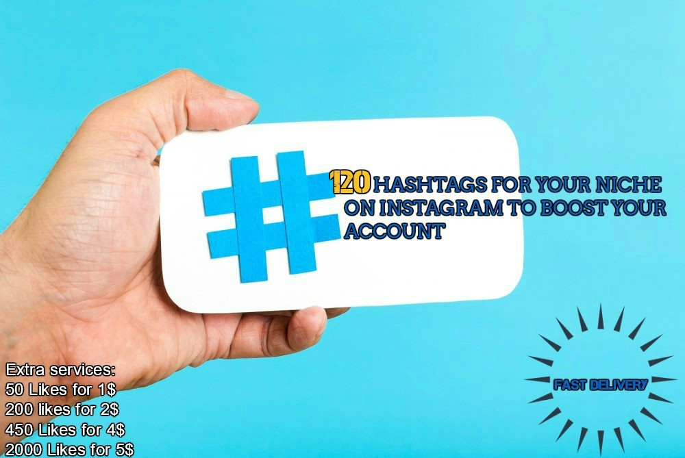 Research 120 Best Hashtags For Your Niche