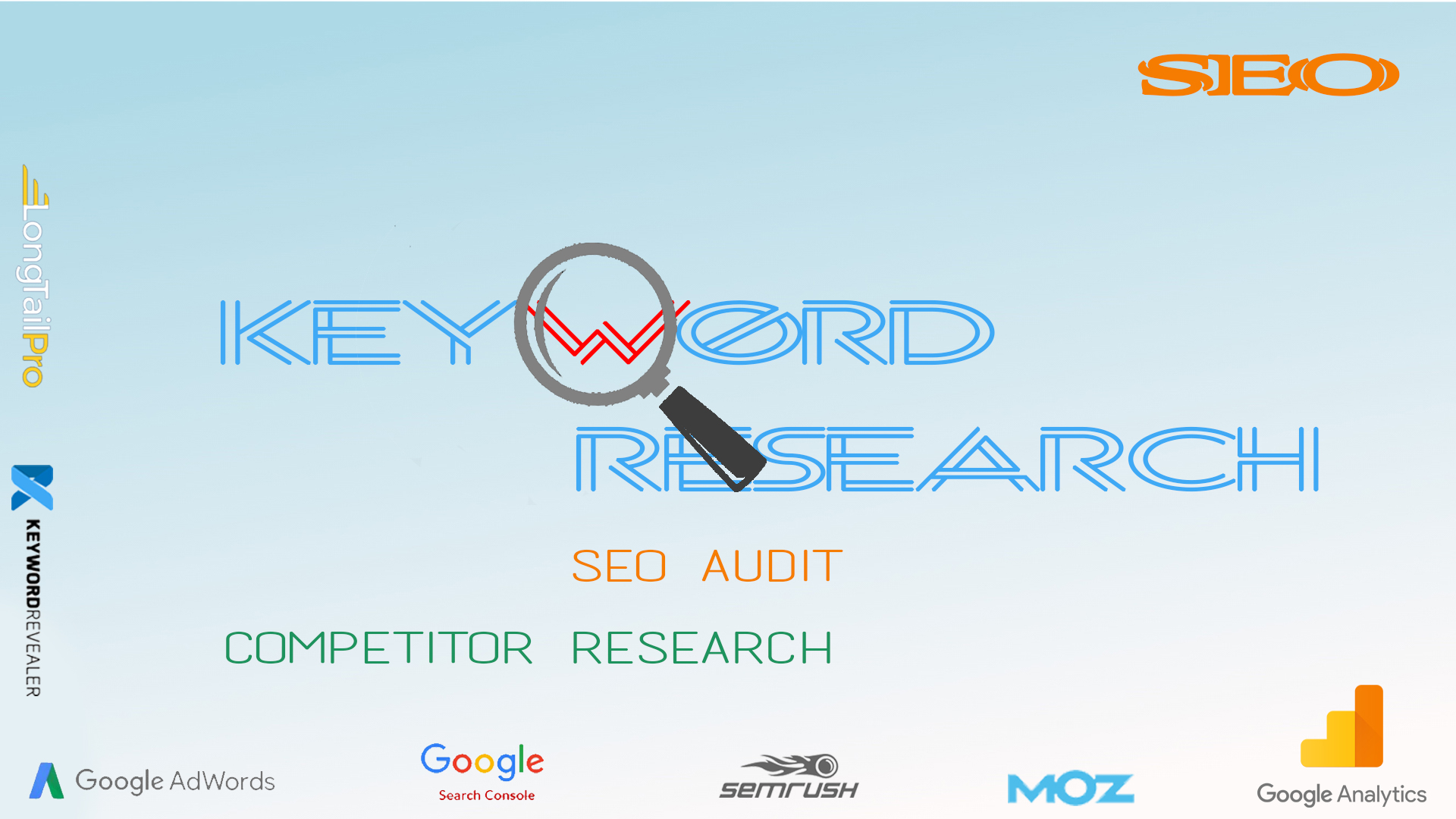 SEO Keyword and Competitor Research for your website