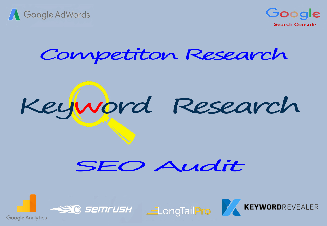 SEO Research and Audit for your website