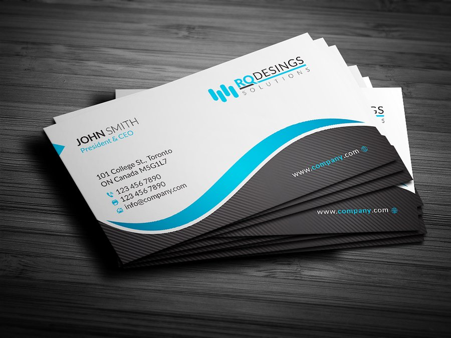 Design a Business Card for you for $7 - SEOClerks