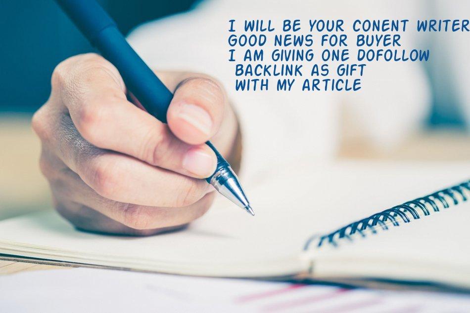 Write 500 Words Original Article For You