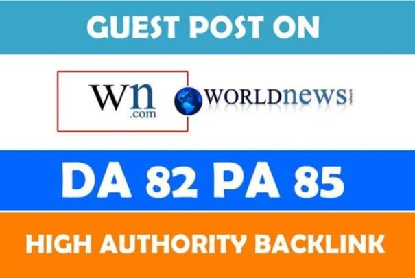 Write and Publish Article on WN Dot Com with 1 Backlink