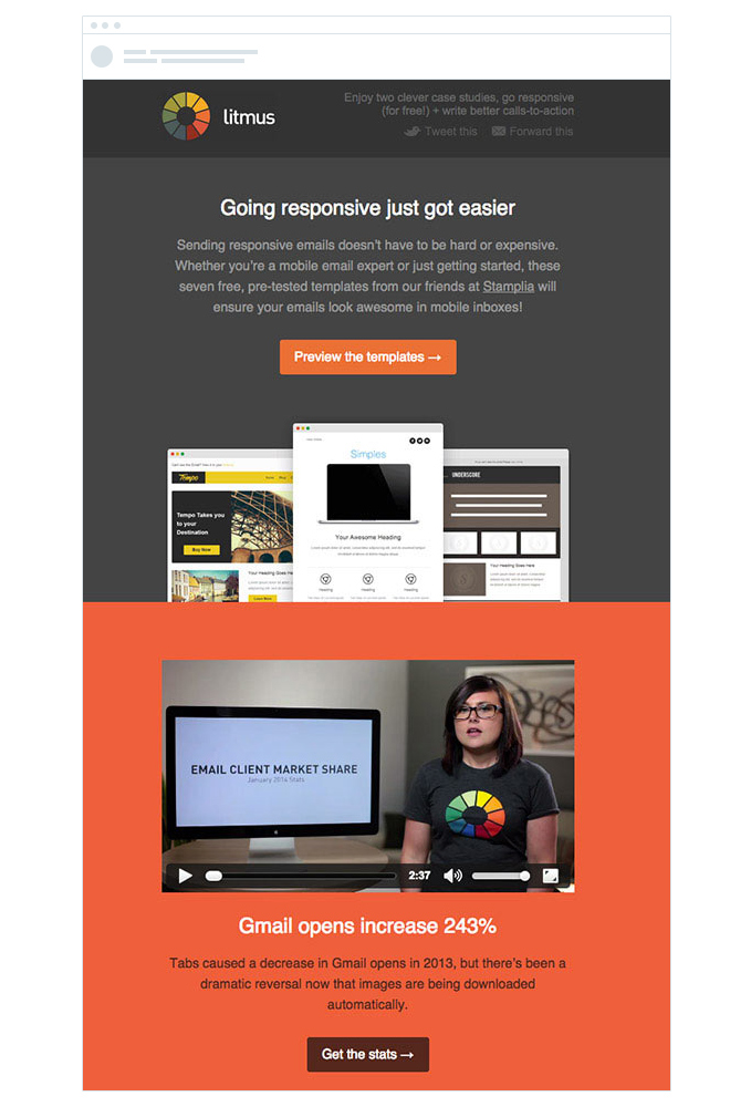 Get A Responsive Email Newsletter Template For   Seoclerks