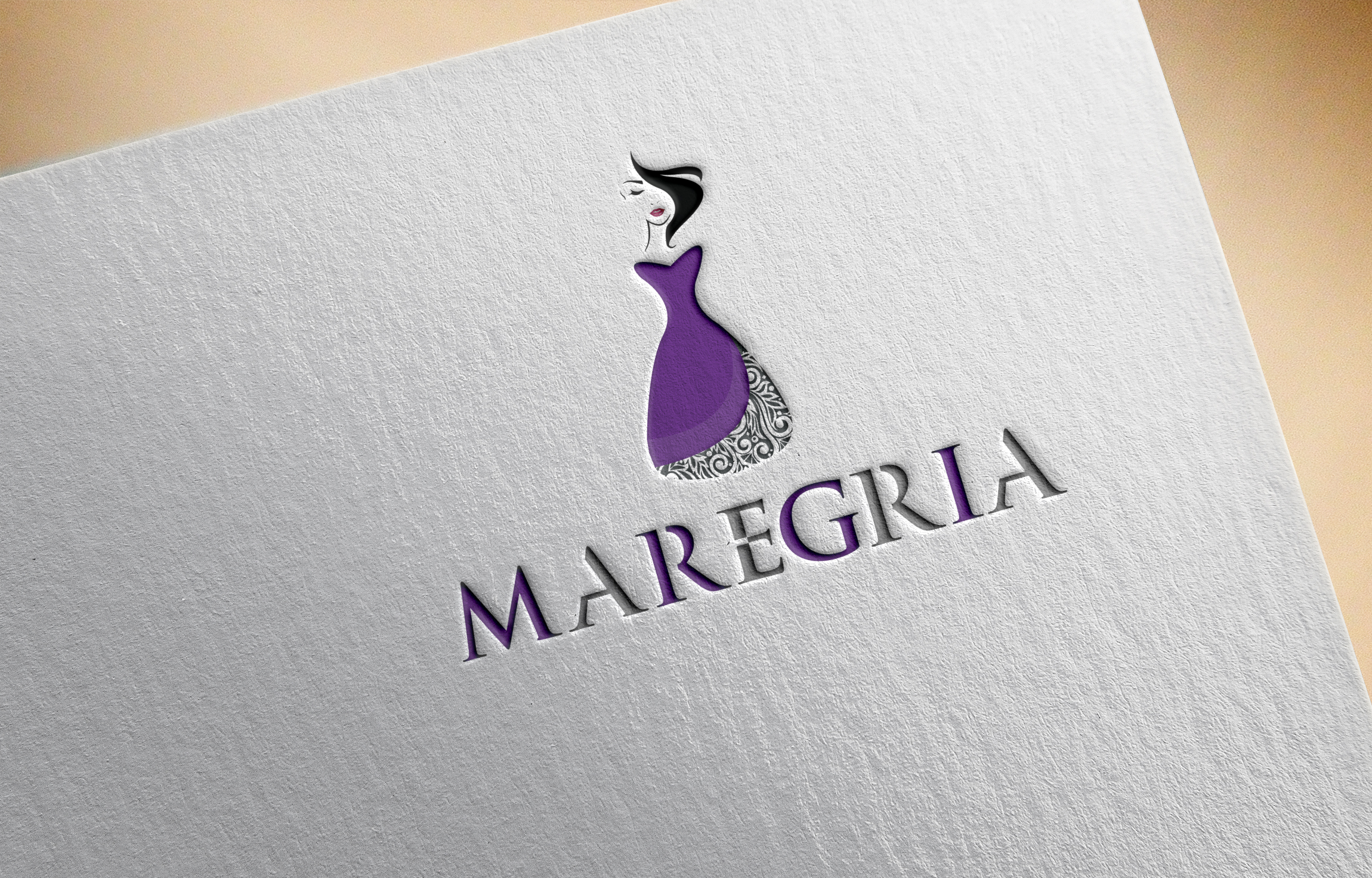 Make a professional and modern logo