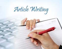 Article,  blog,  and scientific papers writing