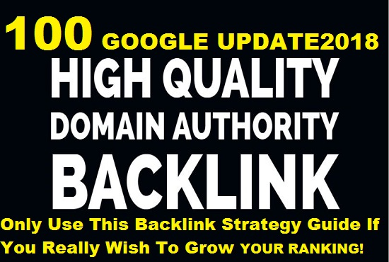 High Domain Authority and Trust Follow Seo Back link