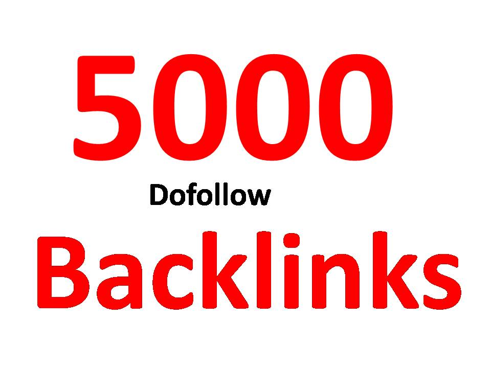 Create 5000 High Pr Seo Dofollow Backlinks Link Building