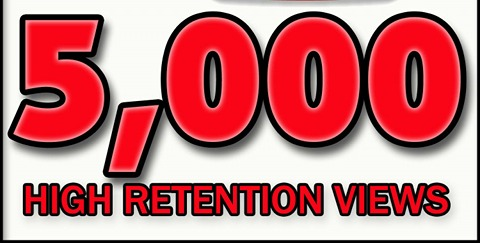 5000+ High Quality Views Instant Start Fully safe