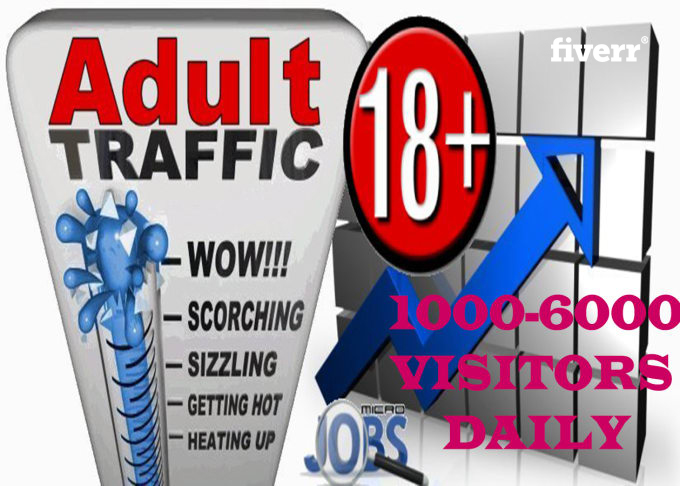 120,000 USA Visitors To Your Porn Or A dult Website for 30 days for 25