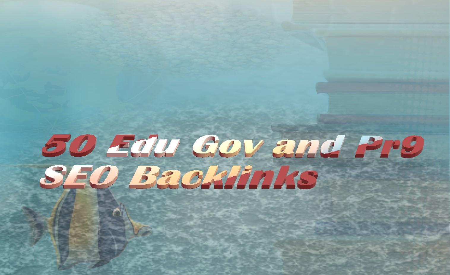 50 Edu Gov High Quality Backlinks for your website