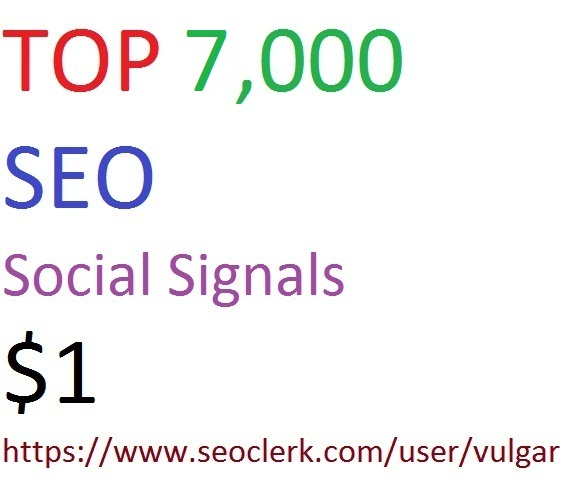 TOP 7,000 pinterest Social Signals to Improve SEO and Boost Ranking.