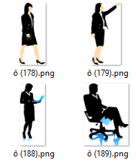 197 Businesswomen images in SVG and PNG format