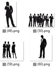 274 Businessmen Images in PNG and SVG format