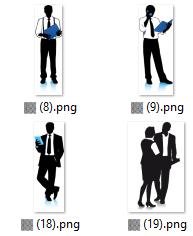 274 Businessmen Images in PNG and SVG format