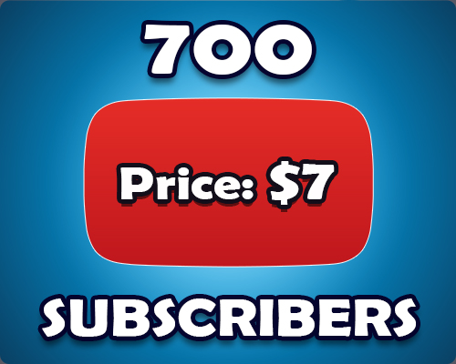 Limited Offer 700 Non Drop YouTube Subscribers
