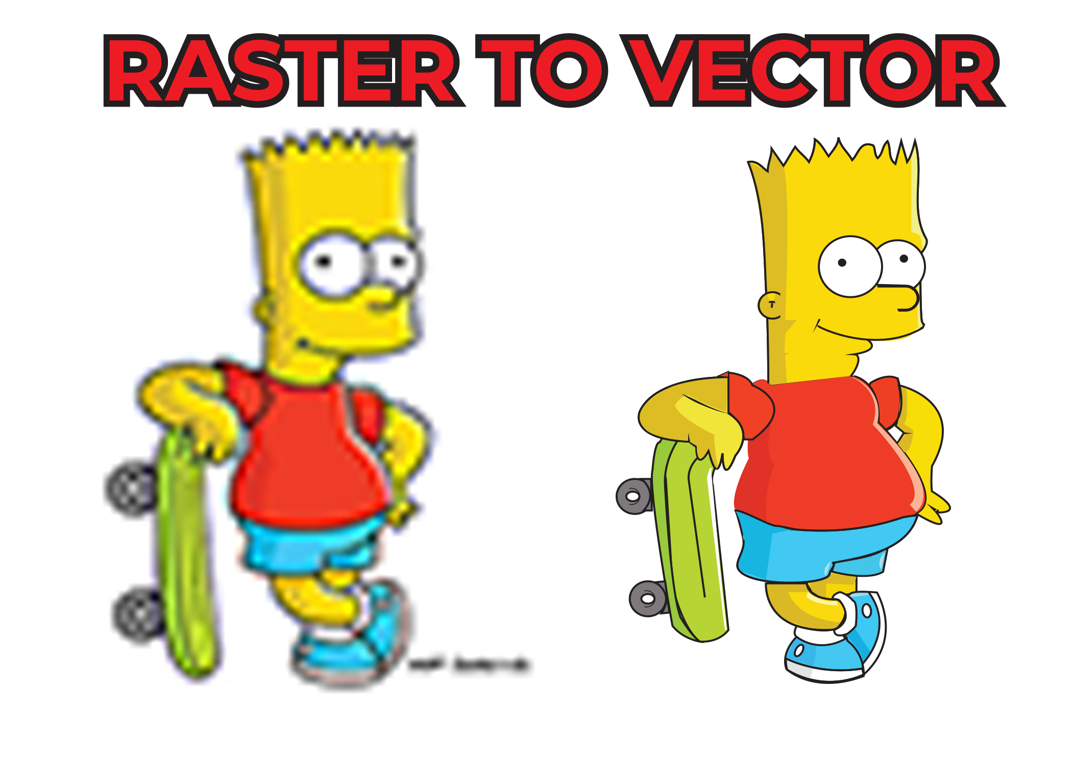 Convert Raster To Vector, Vector Tracing