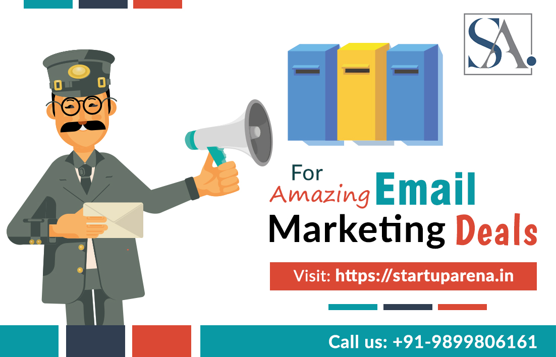 Startuparena Best email marketing and Newsletter services in India.