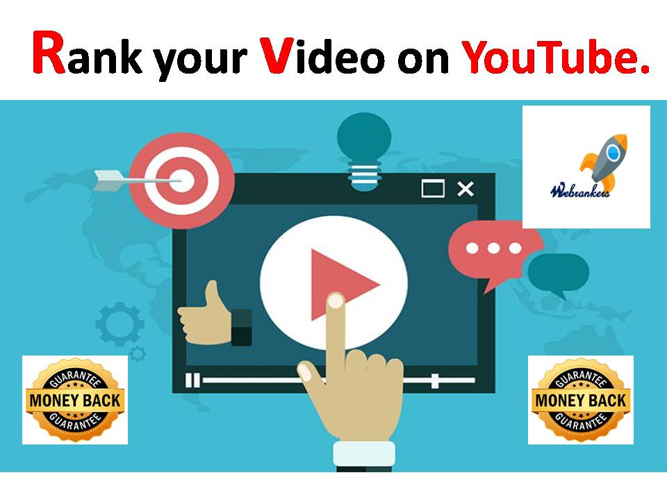 Rank your video on YouTube with high quality video seo and fast service