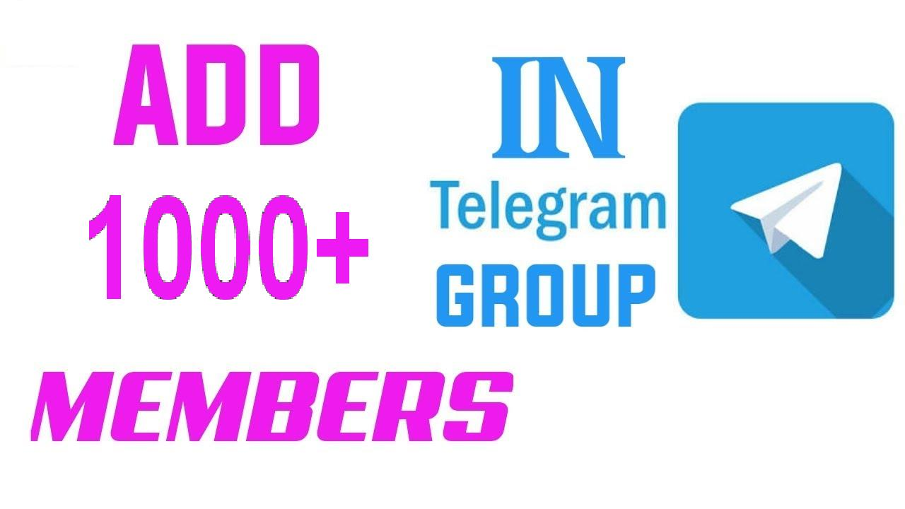 Buy Genuine Telegram Members for your group Without Bot
