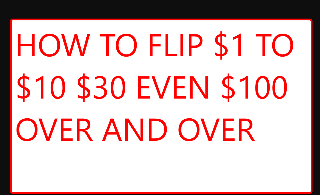 teach how to turn 1 USD to 30 even 100 easily over and over