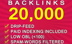 Create 20,000 Gsa Backlinks For SEO Rankings